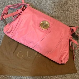Handbags - GUCCI Pink Hysteria Clutch